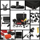 Luxe 50 in 1 Accessoires set kit incl koffer voor GoPro Hero 3 / 4 / 5 + Sony EKEN & Denver