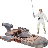 Star Wars The Black Series Luke Skywalker Landspeeder - 15 cm
