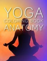 yoga coloring book anatomy: the complete yoga anatomy coloring book by katie lynch. 8.5''x 11''