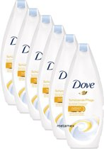 Dove Caring Protection Women Douchecrème- 6 x 250  ml - Voordeelverpakking