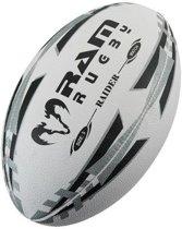 Raider Match rugbybal - Wedstrijdbal - 3D grip - Maat 5 - Geel