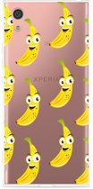 Sony Xperia XA1 Hoesje Happy Banaan