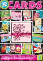 A4 Boek - CARDS - Om prachtige kaarten te maken. LET OP: 4 STUKS.