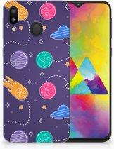 Samsung Galaxy M20 Uniek TPU Hoesje Space
