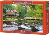 Watersmeet, Exmoor National Park, Engeland puzzel 1000 stukjes