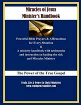 Miracles of Jesus Minister's Handbook - In Large Print