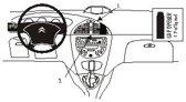 Brodit angled mount v. Citro?n  C5 01-03