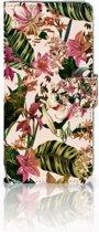 Huawei P30 Pro Uniek Boekhoesje Flowers