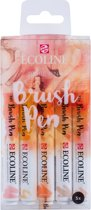 """Talens Ecoline 5 brush pens """"Beige Pink"""""""