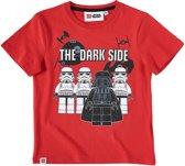 LEGO-Star-Wars-T-shirt-met-korte-mouw-rood-maat-116