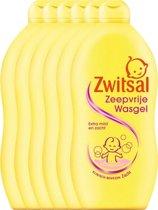 Zwitsal Zeepvrije Baby Wasgel - 6 x 700 ml - Voordeelverpakking