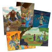 Vacation Bible School (Vbs) 2020 Knights of North Castle Bible Story Poster Pak