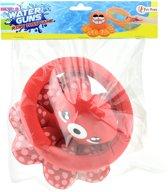 Toi-toys Octopus Ringgooien 20 Cm Rood