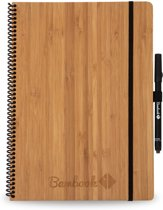 Bambook Hardcover A4 formaat - To-do list - Bamboe - met stift