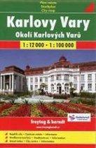 Karlovy Vary 1 : 12 000 / Okoli Karlovych Varu 1 : 100 000