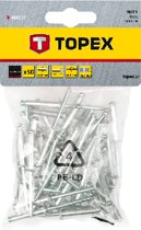 Topex Popnagels 4,8x23mm 50st