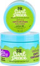 Just For Me - Curl Peace Defining Curl & Coil Cream - Krullen Creme - Kinderen- 340gr