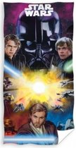 Disney Star Wars - Strandlaken - 75x150 cm - Paars