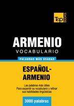 Vocabulario Español-Armenio - 3000 palabras más usadas