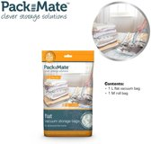 Packmate Vacuum Flat Bag Set 2 pcs M+L - Reiszakken - Opbergzakken - Space savers