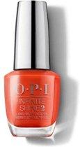 O.P.I. Nagellak Infinite Shine - A Red-Vival City