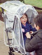 Diono - Rain Cover - Universele regenhoes voor buggy's - Luxe regenscherm met ventilatie en opbergvak - Buggy regenkap