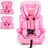 Autostoeltje, kinderzitje, roze/wit, kinderstoeltje