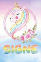 Signe: Want To Give Signe A Unique Memory & Emotional Moment? Show Signe You Care With This Personal Custom Named Gift With S