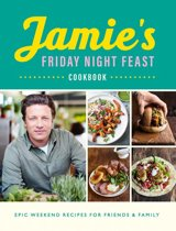 Boekomslag van 'Jamie's Friday Night Feast Cookbook'
