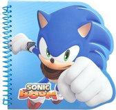 Gosh! Designs Notitieboekje Sonic Boom Shaped Blauw