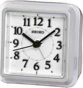 Seiko QHE090S - Wekker met electronisch alarm - Grijs