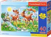 Little Deers - Vloerpuzzel - Vloerpuzzel maxi 40  Stukjes