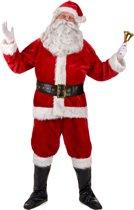 Luxe kerstman verkleedpak voor volwassenen - Volwassenen kostuums