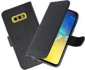 Bookstyle Wallet Cases Hoesje voor Samsung Galaxy S10e Zwart