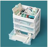 We R Memory Keepers - Plastic Opslagbox met 3 lades -  wit