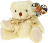 Toi-toys Knuffelbeer 25 Cm Wit