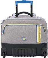 Delsey Horizontale Trolley Rugzak 15.6 inch - Sport Stripes / Grijs