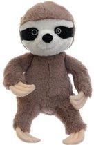 Magnetron warmte knuffel luiaard 18 cm - Verwijderbare zak - Warmte/koelte knuffelluiaard - Kruik knuffels voor kinderen/jongens/meisjes