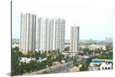 Panorama van Chennai Aluminium 30x20 cm - klein - Foto print op Aluminium (metaal wanddecoratie)