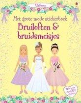 Grote mode Stickerboek Bruid en bruidegom