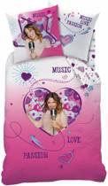 Disney Violetta Baila Rose Dekbedovertrek - Eenpersoons - 140x200 cm - Roze