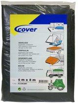 Cover Dekkleed PE Economy groen 100 gr/m² 6x8m
