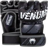 Venum Pixel MMA Gloves - Black Grey-S