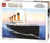 King Puzzel 1000 Stukjes (68 x 49 cm) - Titanic - Legpuzzel Geschiedenis - Volwassenen