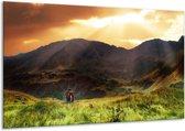 Canvas schilderij Natuur | Wit, Bruin, Groen | 120x70cm 1Luik