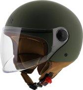 MT Street helm mat groen XS