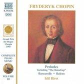 Chopin: Piano Music Vol.10