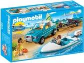 Playmobil Pick-up met speedboot met onderwatermotor - 6864