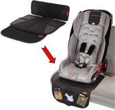 Diono - Super Mat - Anti-slip autostoelbeschermer - Auto beschermmat - Zwart