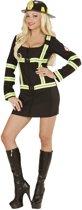 """Sexy brandweerman outfit voor dames - Verkleedkleding - Medium"""